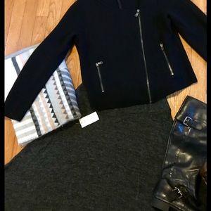EUC Cropped Boxy Wool Jacket, Medium
